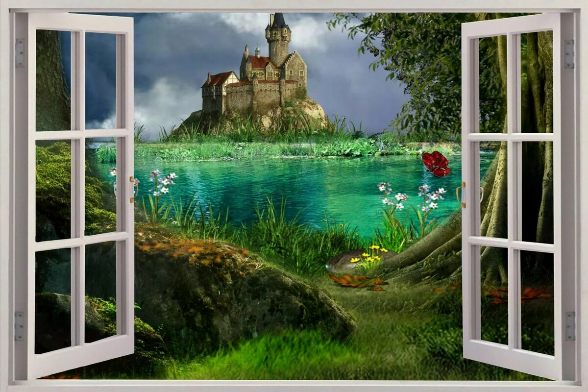 Картинки открывай стенку