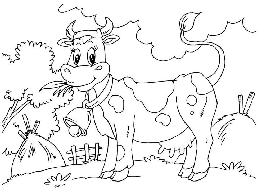 «Раскраски Домашние животные для детей 3-10 лет. Животные ...