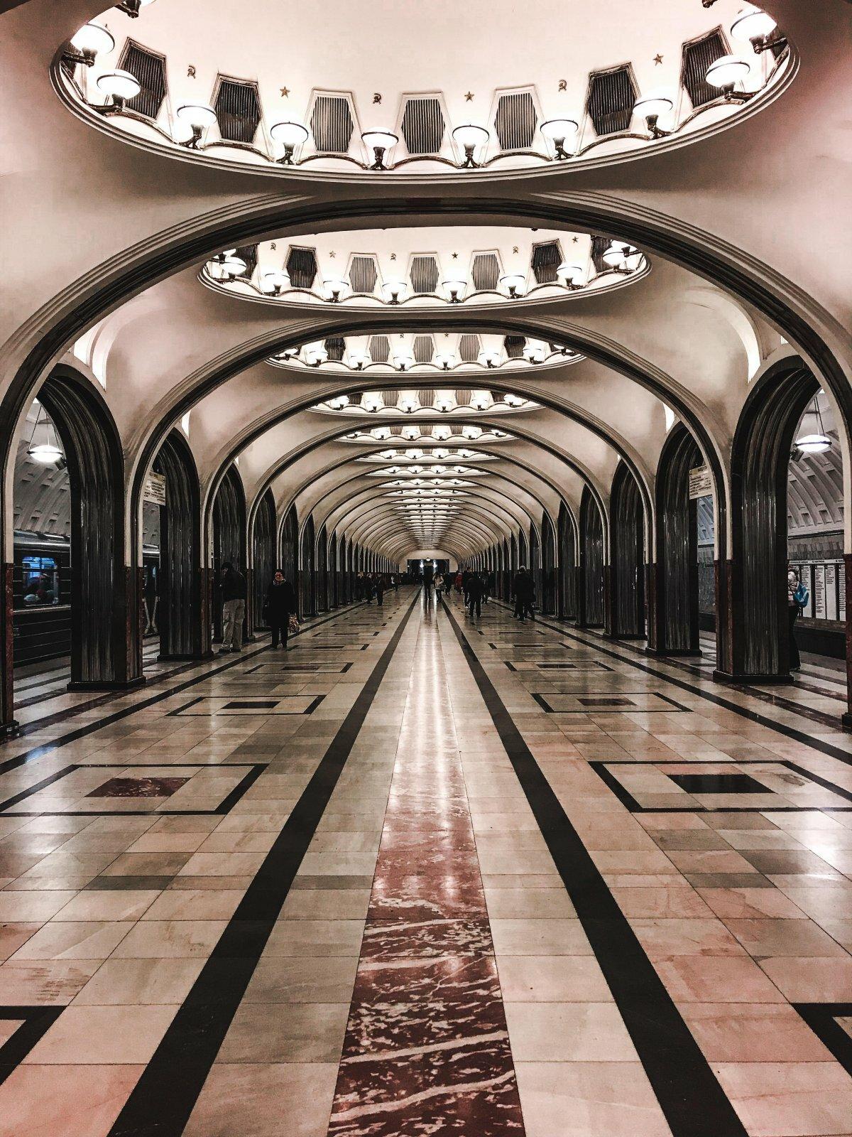 Фото в метро в москве