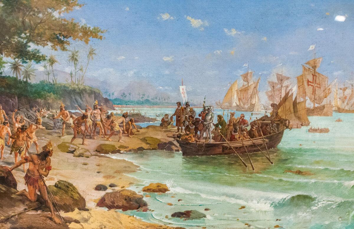 9 марта 1500 года экспедиция Кабрала отправилась в Индию, по пути открыв земли Бразилии