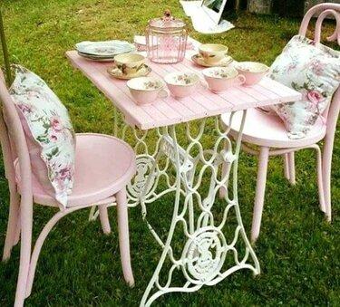 садовая мебель в стиле прованс