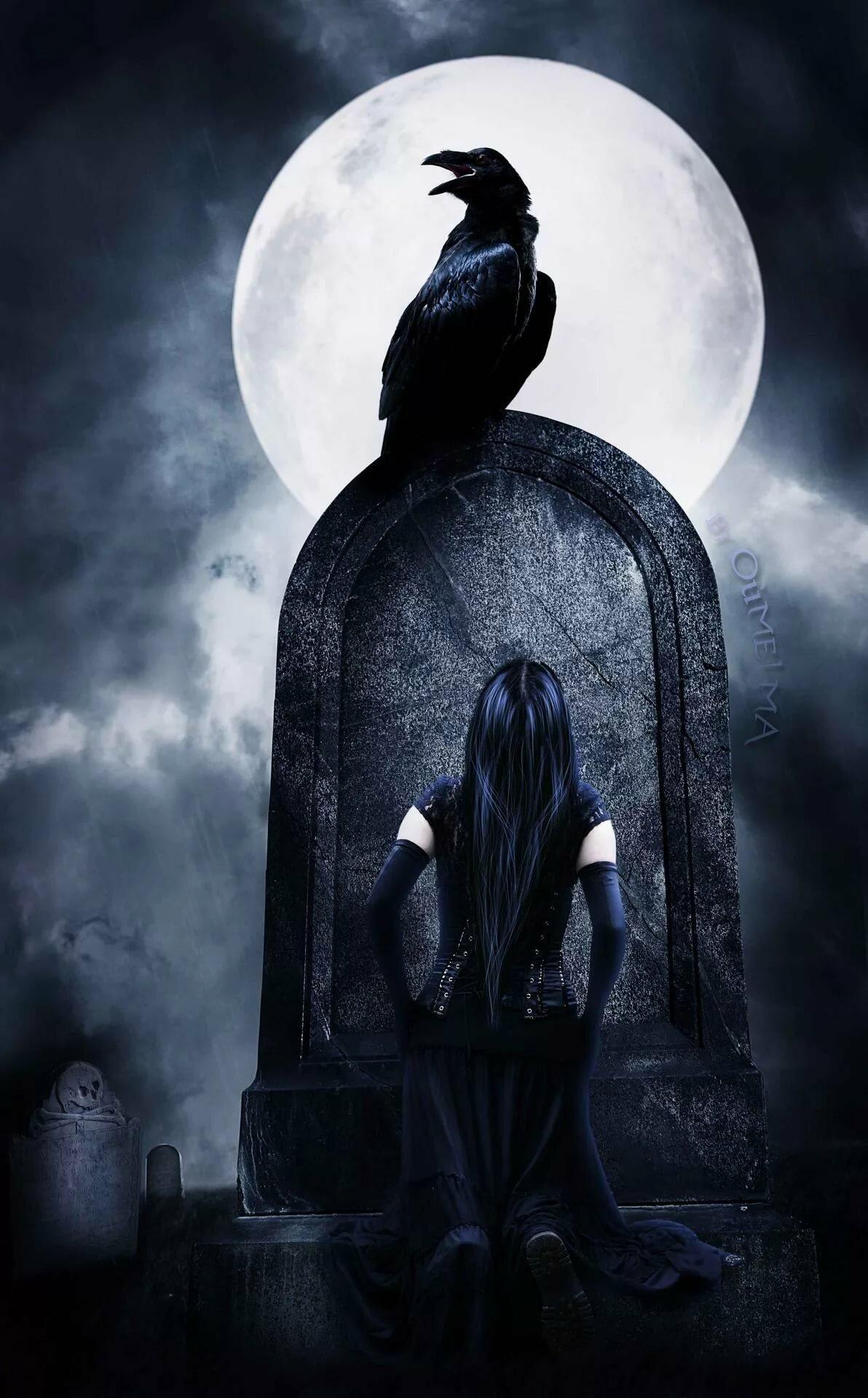 главное картинки луна готика вам удивительный