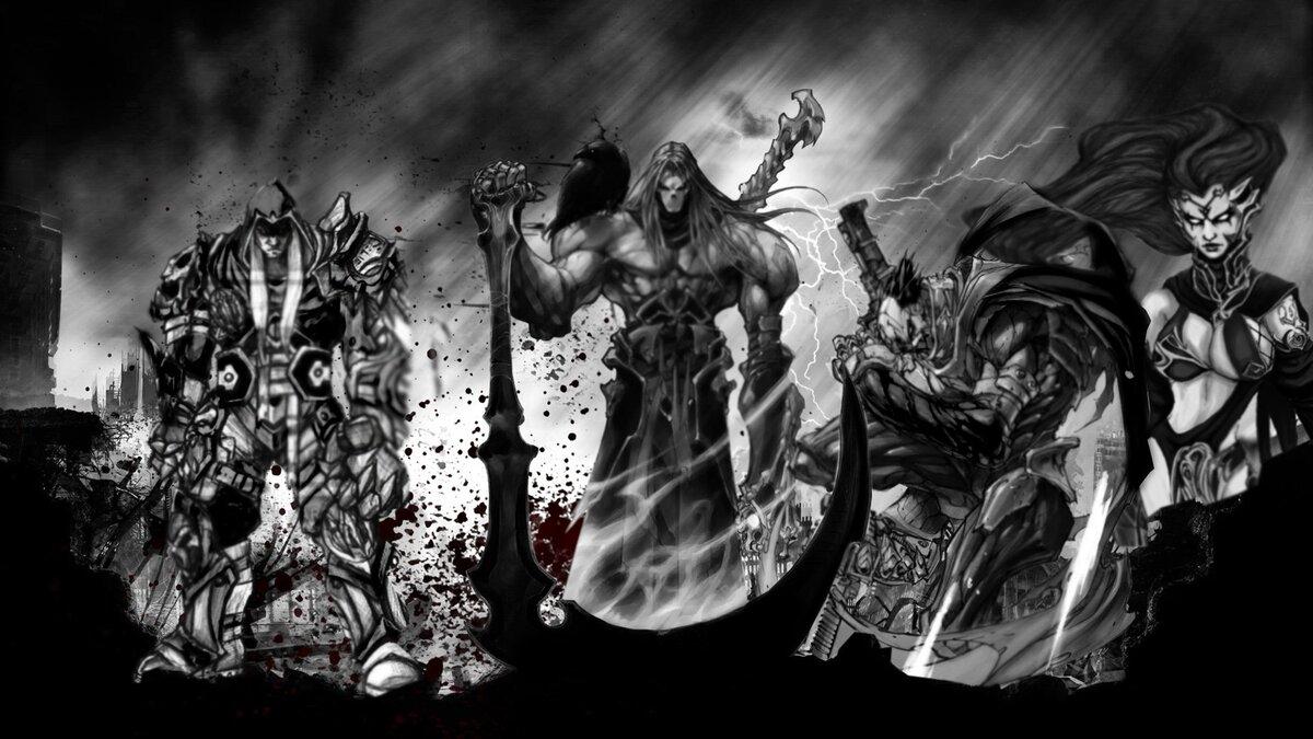 Картинки на рабочий стол всадники апокалипсиса