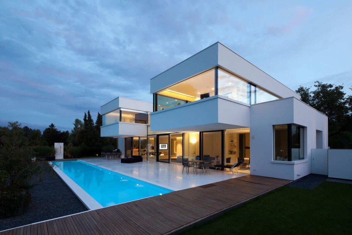 дизайн картинки к домов в стиле хай-тек фото заменами, фото
