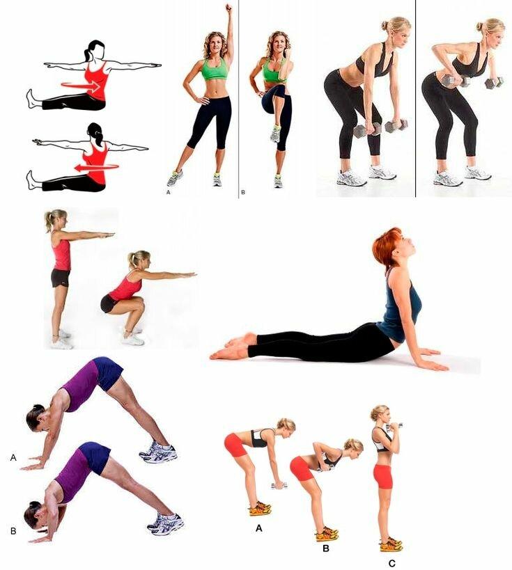 Чтобы Похудели Руки Упражнения. 5 эффективных способов похудеть в руках