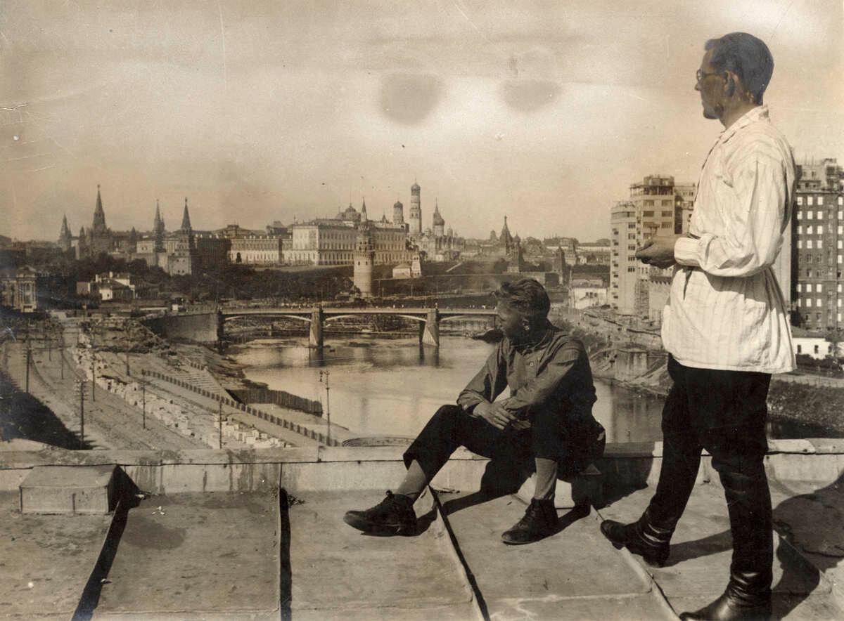 словам москва тридцатых годов фото одно дело