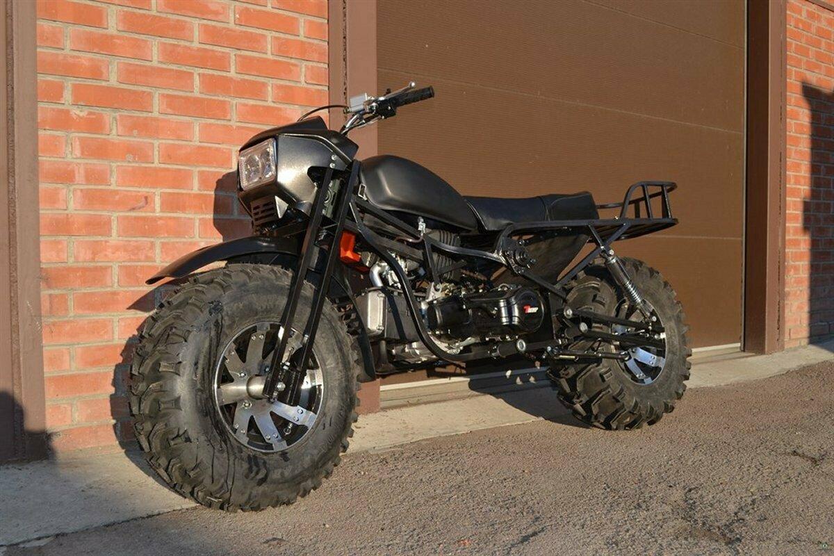 Полноприводный мотоцикл Тритон 2×2