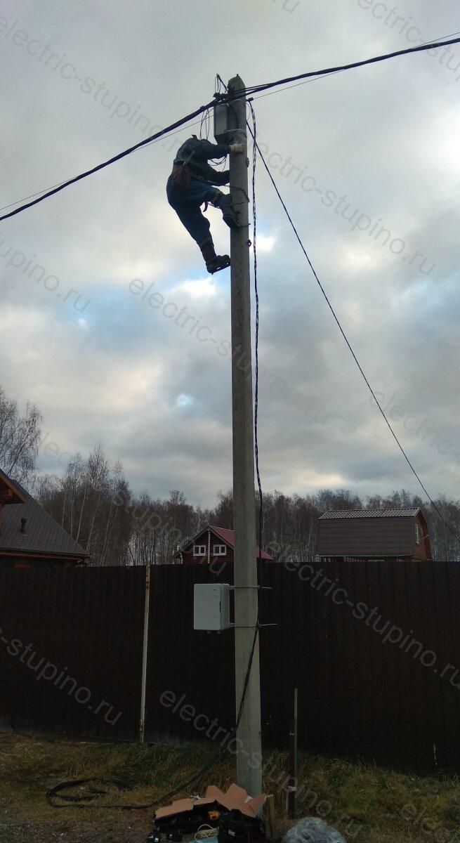 Подключение к электросети 380В в Ступинском районе