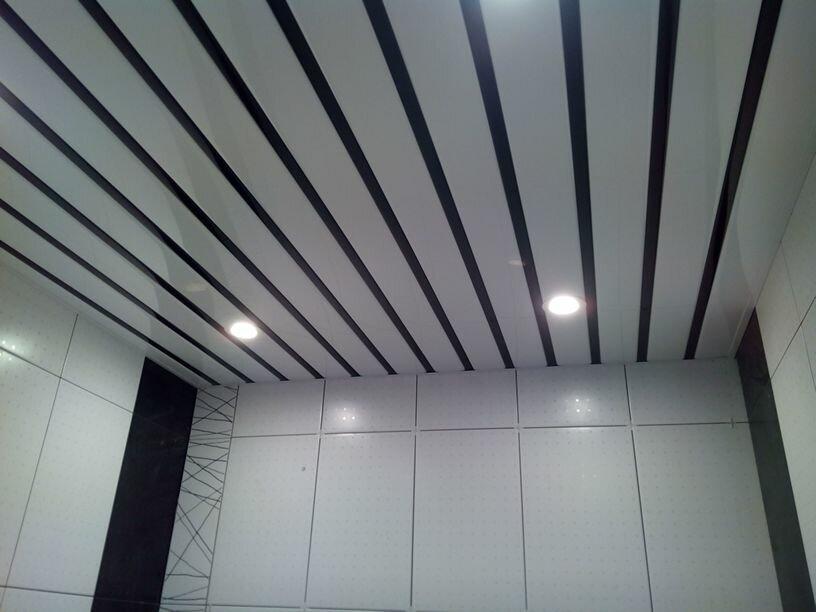Реечный потолок №71