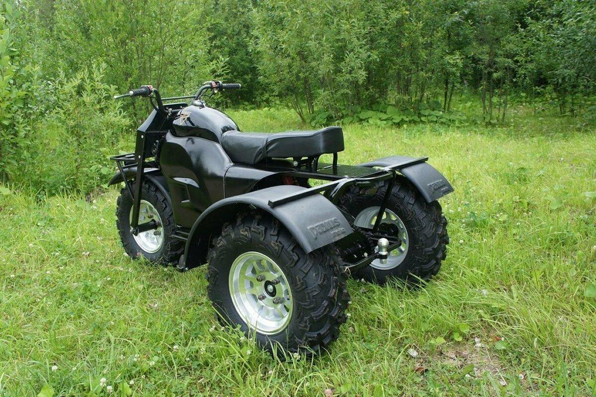 Полноприводный трицикл Paxus VS-15 3×3