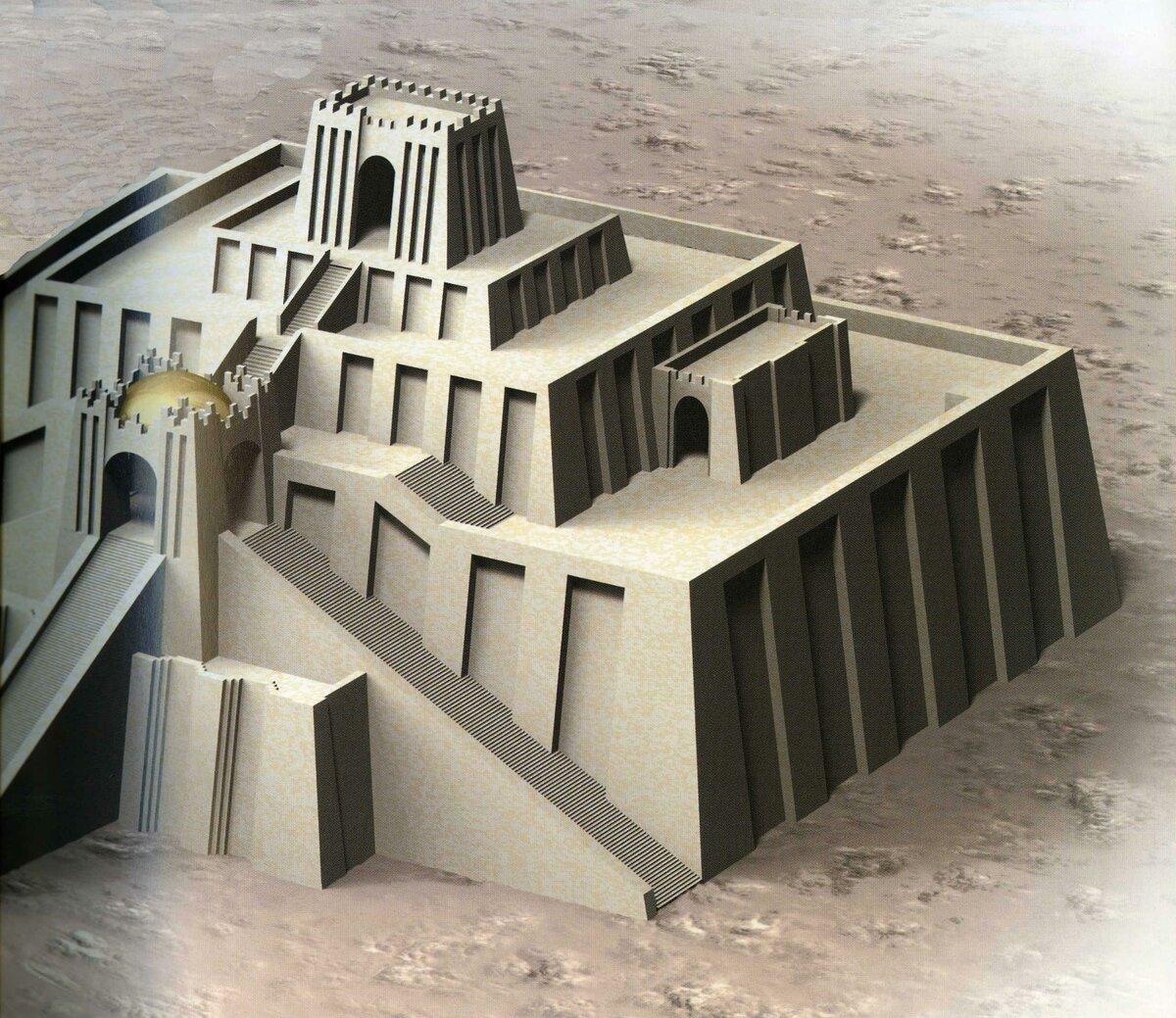Архитектура двуречья и месопотамии картинки