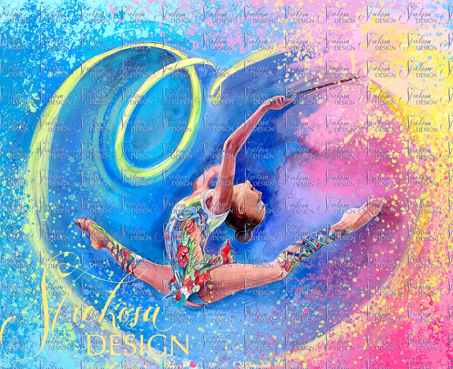 Пожелание удачи в художественной гимнастике котором
