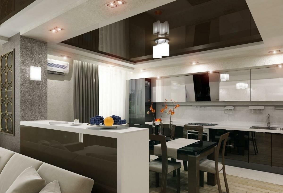 нас картинки зал с кухней вместе фото зависимости