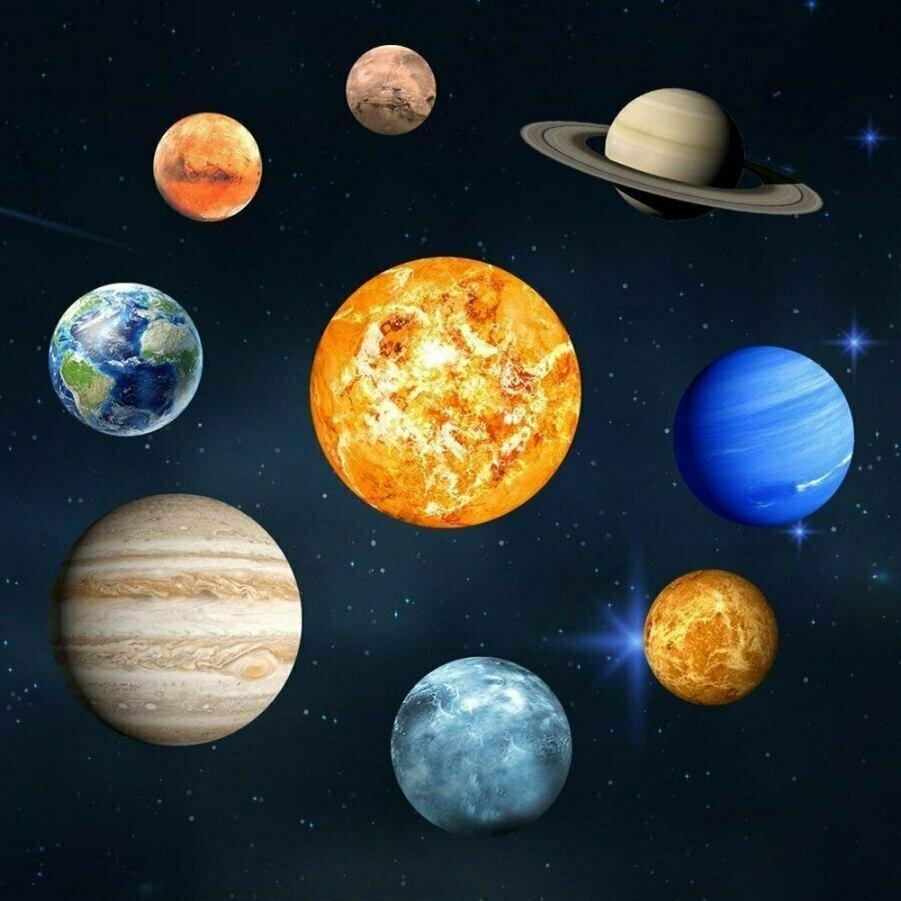 картинки изображения планет солнечной системы