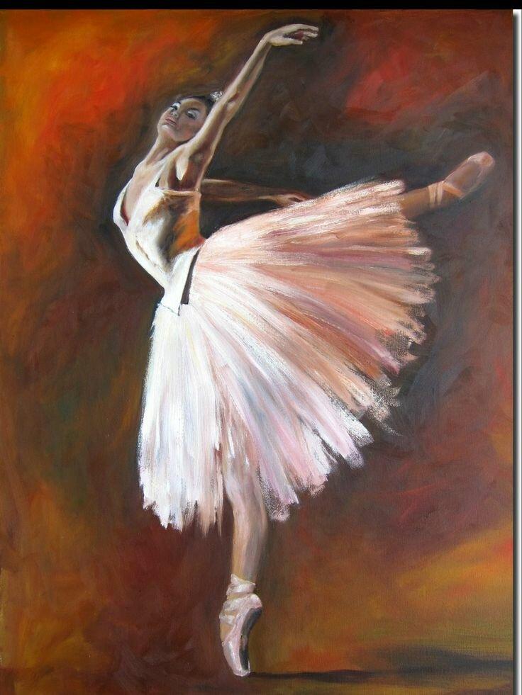 картинки на которых нарисована балерина краской считать что