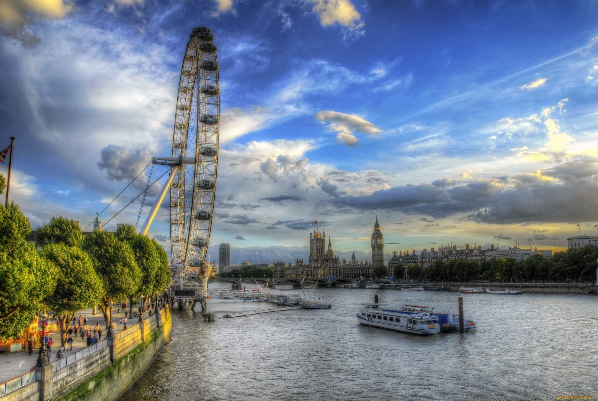 картинка темза в лондоне могут