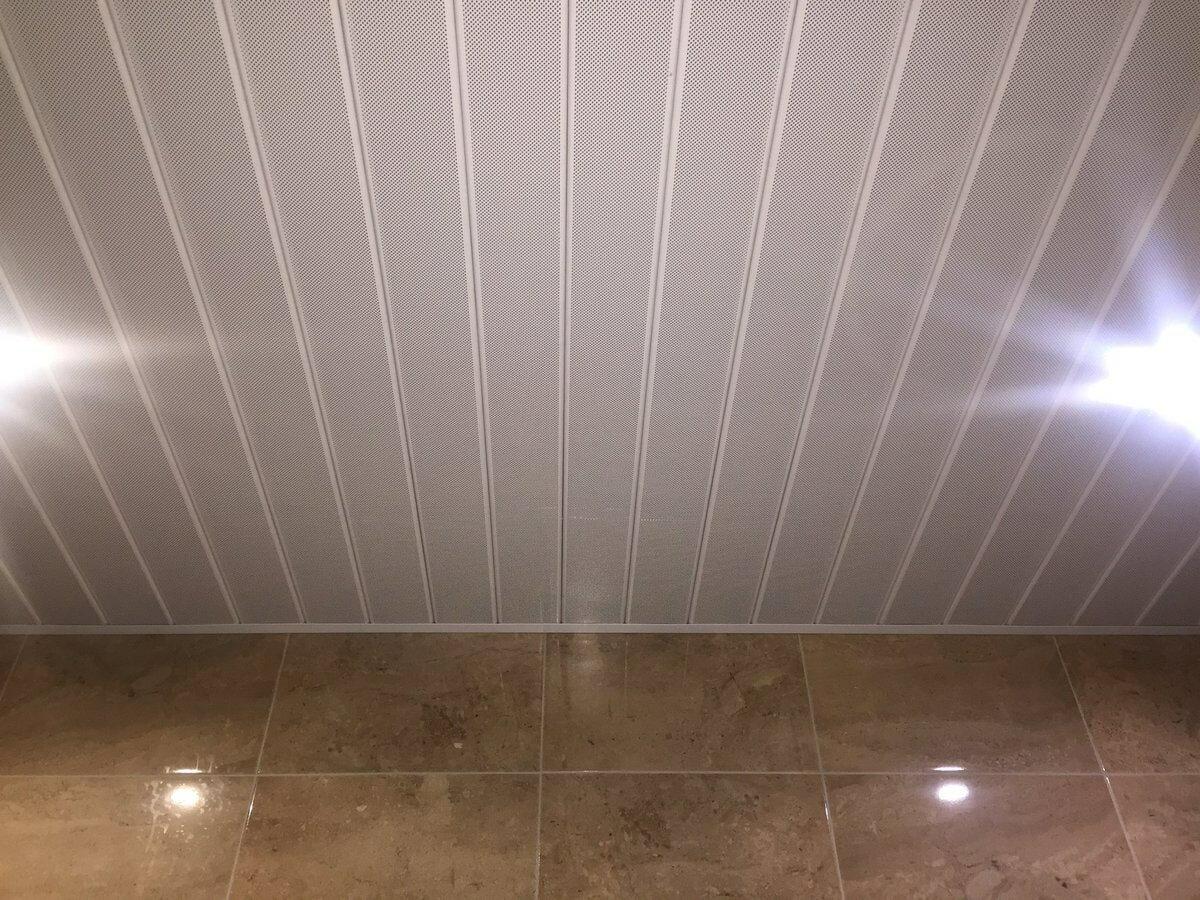 Реечный потолок №15