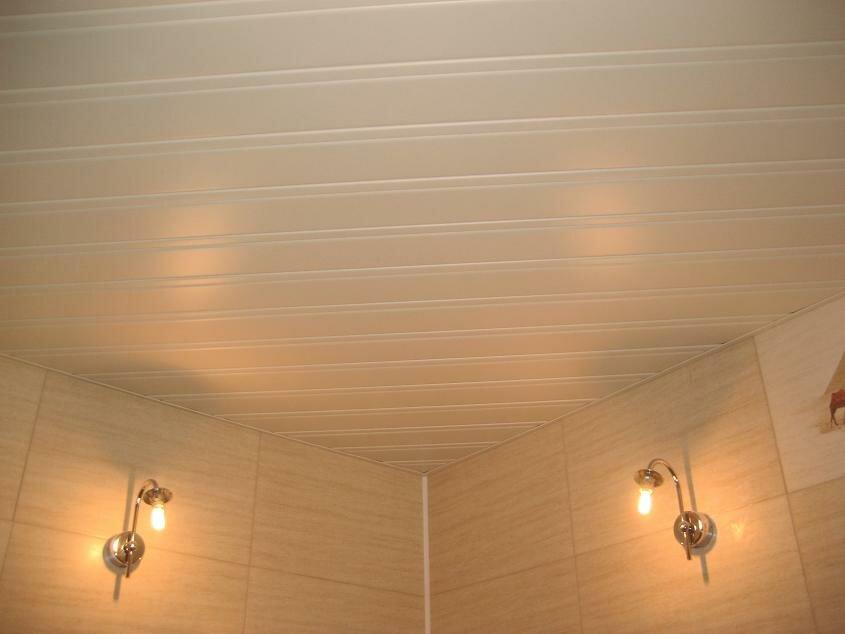 Реечный потолок №104