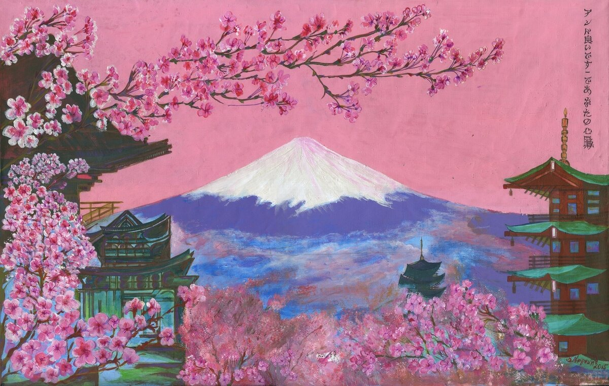 Картинки на японскую тему