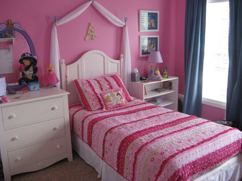 Картинки девочки спальня