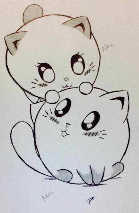 Няшные рисунки которые можно нарисовать