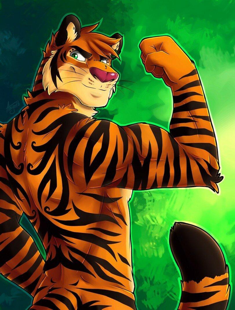 Картинки тигра человек