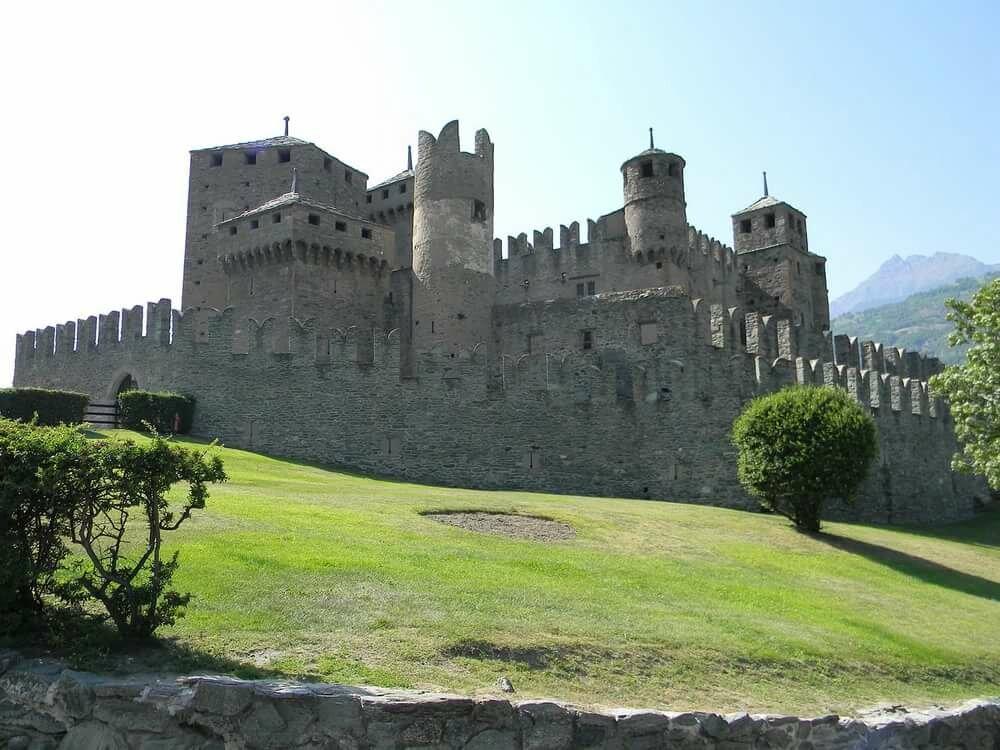 Картинки рыцарский замок в средневековье