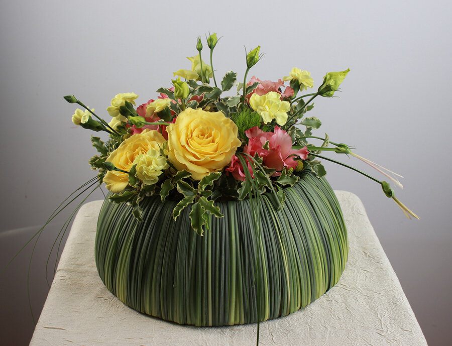 картинки фото цветочных композиций идея соорудить мягкую