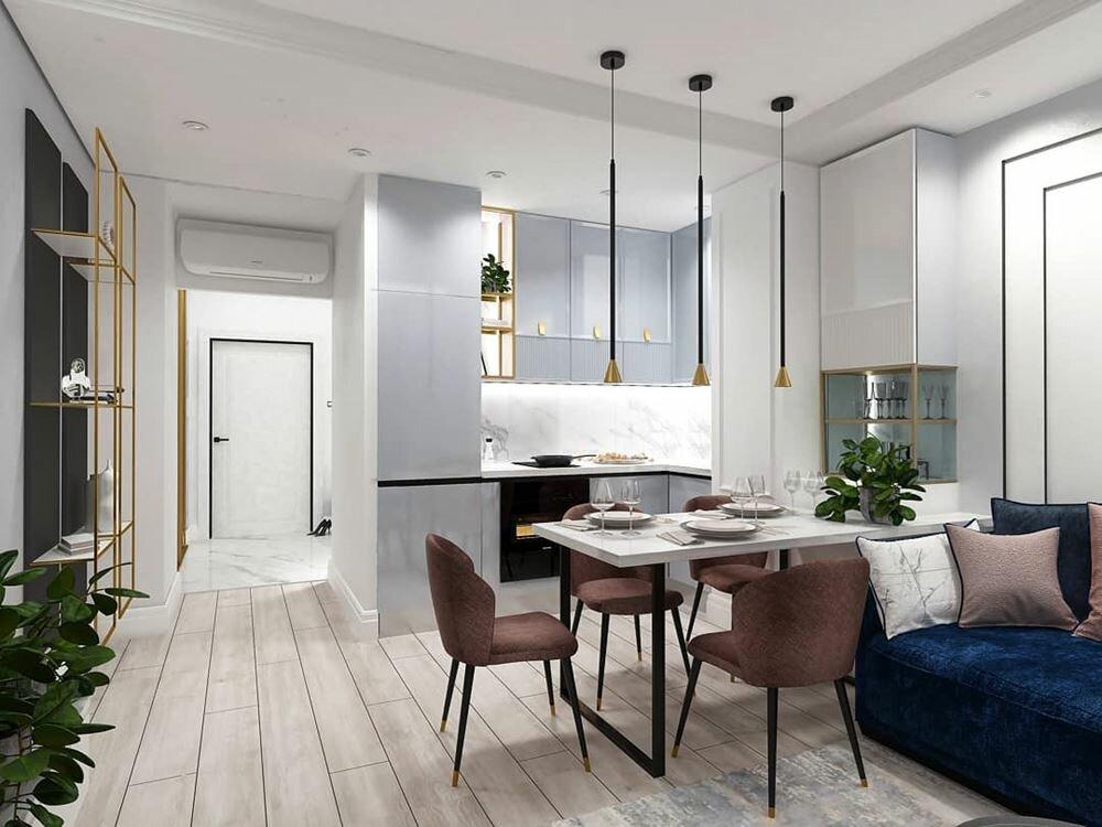 Дизайн квартиры в ЖК Жуковский