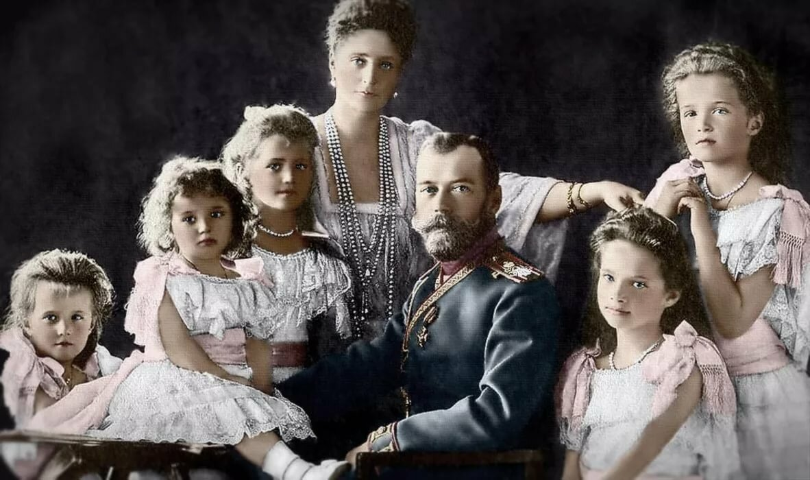 фотографии всей династии романовых плоды