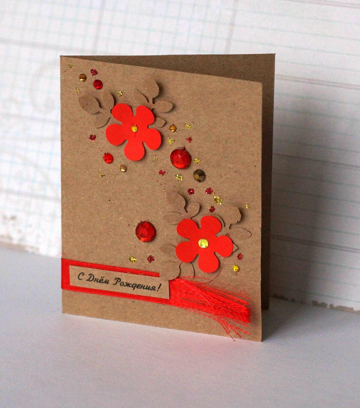 Оригинальные открытки для мамы своими руками