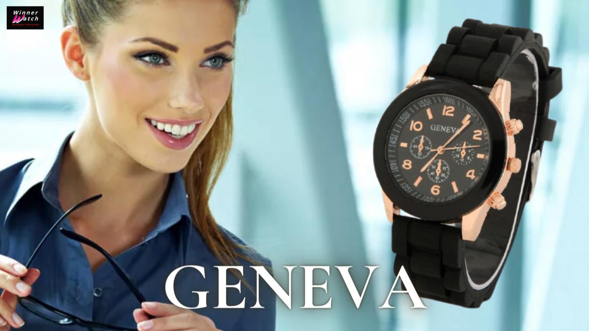 Женские часы Женева Черные - успешность, строгость и роскошность. Купить в один клик - winnerwatch.ru/products/chasi-geneva-chernie