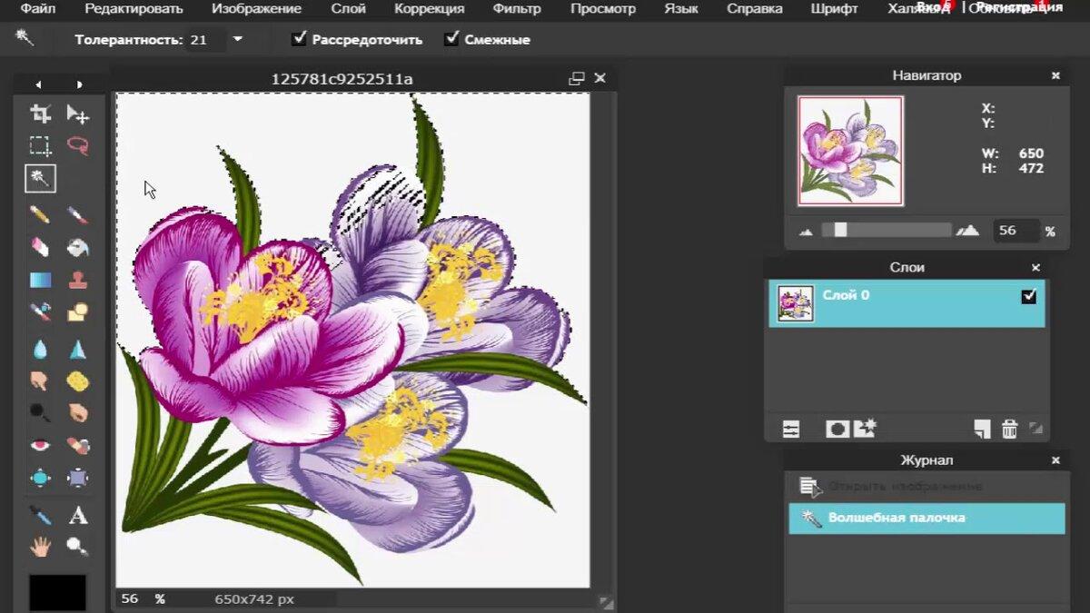 Создание картинок на прозрачном фоне онлайн