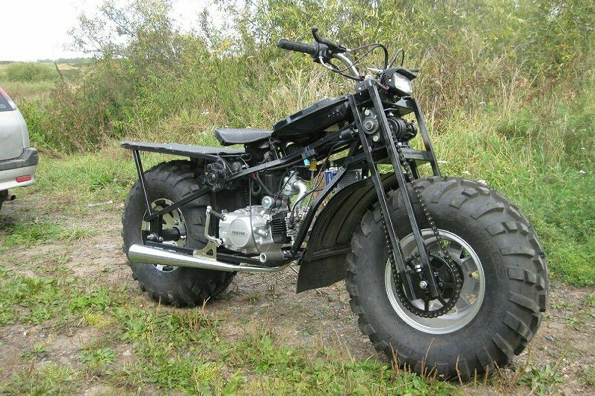Внедорожный мотоцикл Тритон 2×2