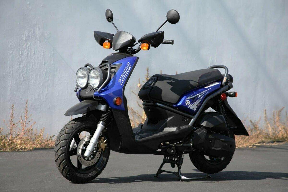 Японский внедорожный скутер Yamaha Zuma 125