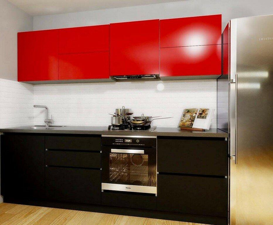 Фото кухня три метра