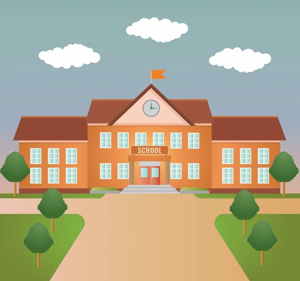 Рисунок школы картинка