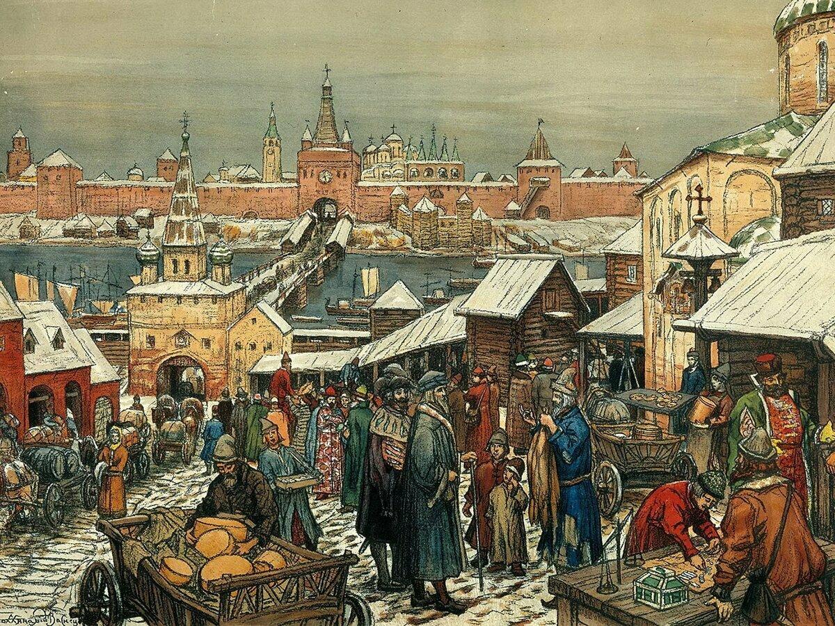 картинка новгородский торг является