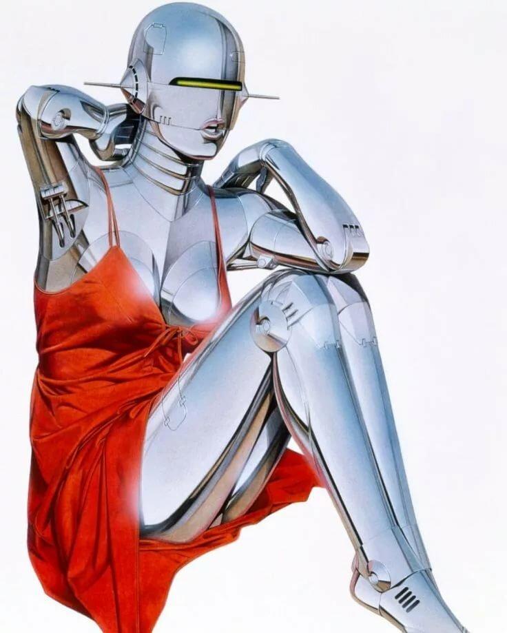 Hajime Sorayama Art Pinkworld 1