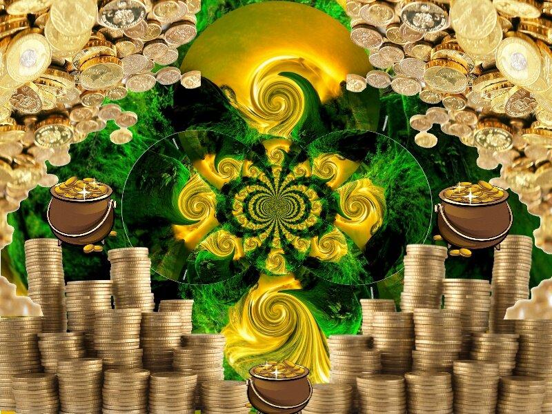 притягивание денег и удачи картинки аракси