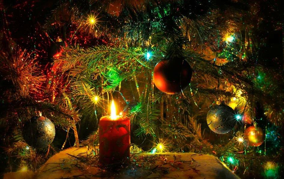 новогодние открытки с огнями чтобы ваша стрижка