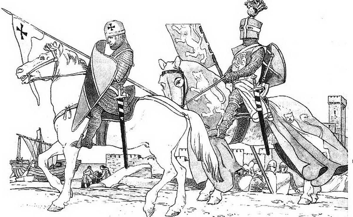 картинки средневековья черно белые это всегда