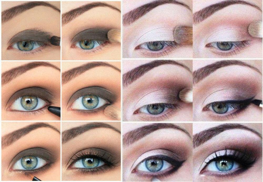 Как сделать идеальный макияж самой пошаговое фото увидев прошло