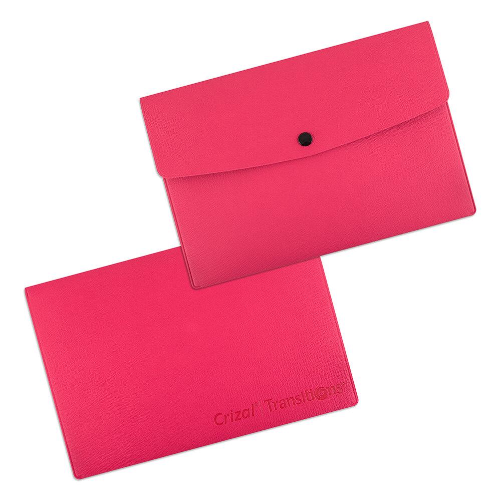 Кожаная папка-конверт с логотипом