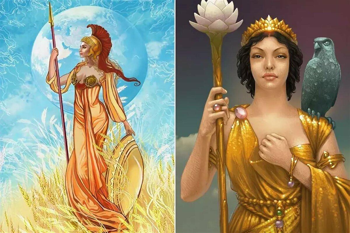 Олимпийские богини с картинками