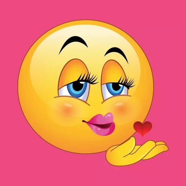 Открытки с сердечками и поцелуйчиками рабочего