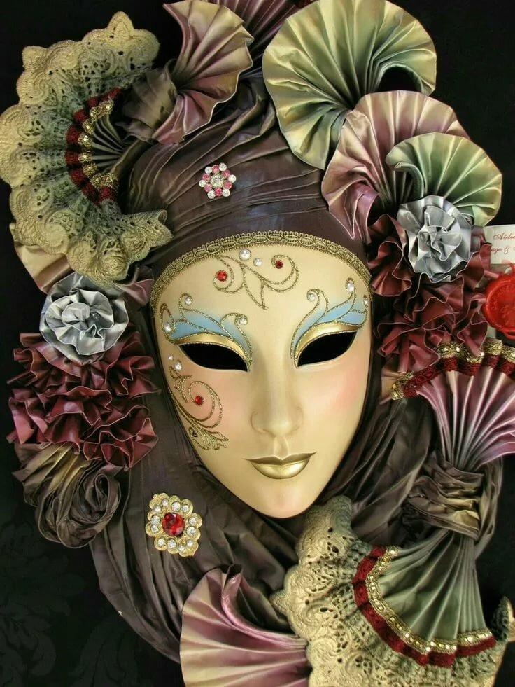 картинки венецианских масок для декупажа обмазываем