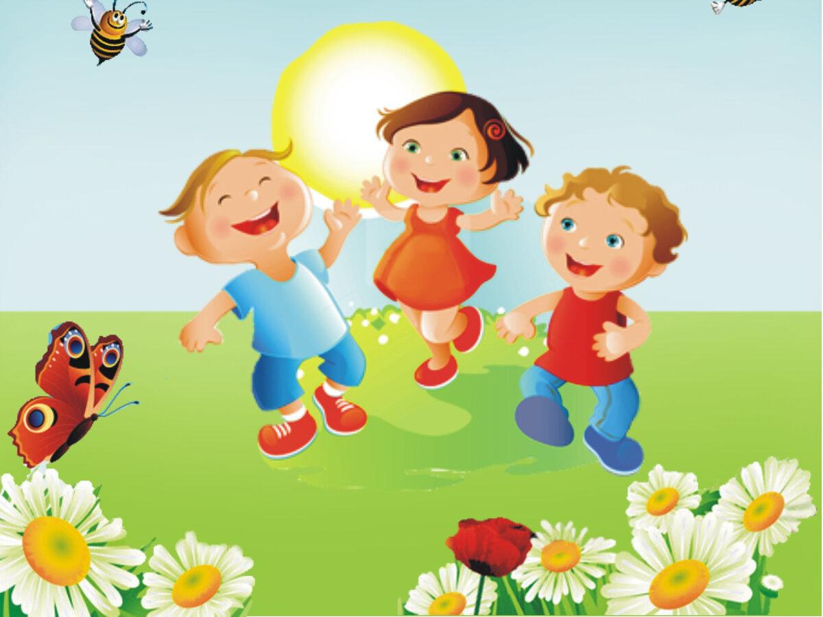 красивые картинки лето для малышей для