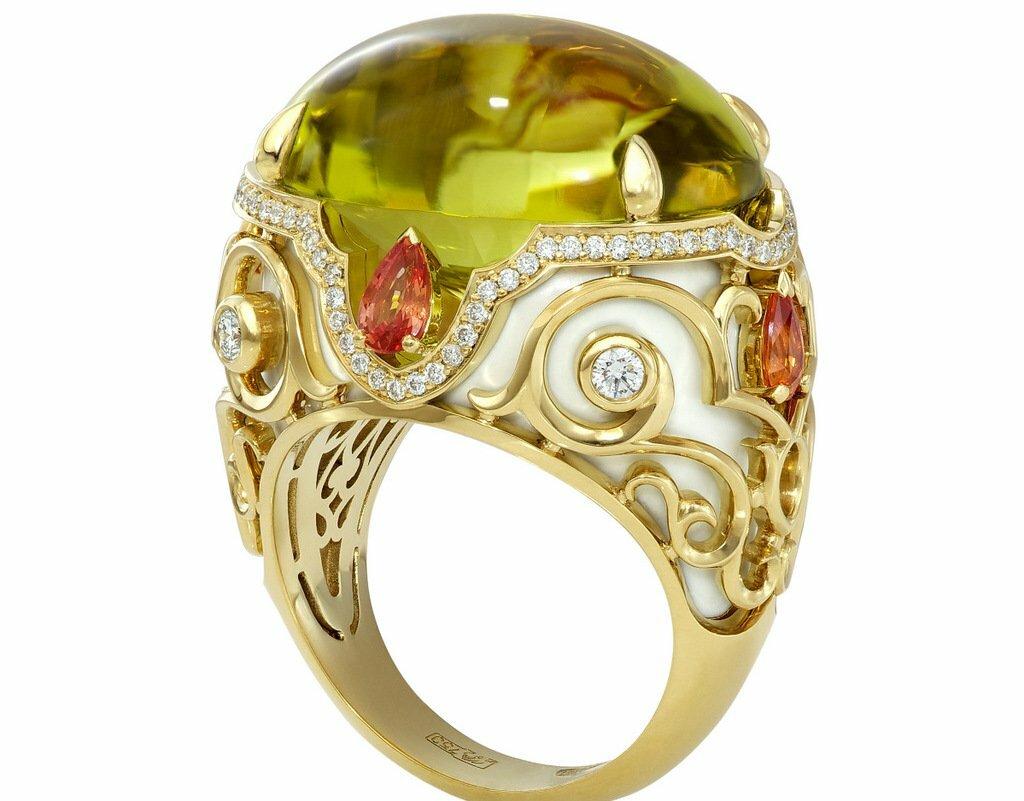 кольца известных ювелирных домов фото