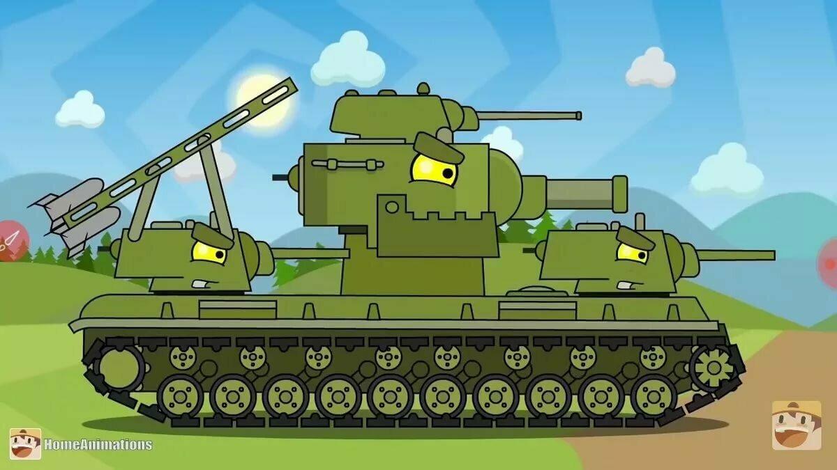 Картинки танков для мультиков
